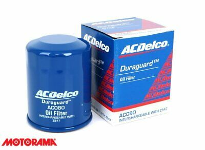 AU10 • Buy Genuine AC Delco Oil Filter AC080 Interchangeable With Z547 NEW GM#19266424