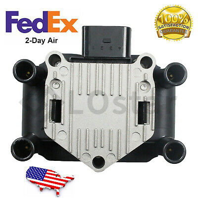 $29.74 • Buy Ignition Coil Pack UF277 For 1998-2005 Volkswagen Beetle Golf Jetta L4 2.0L