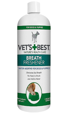 Pet Dogs Puppies Dental Breath Freshener Water Additive Oral Care, 500 Ml • 13.99£