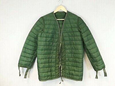 $41.35 • Buy Military Liner Quilted Padded Parka Jacket Army Green - S M L XL
