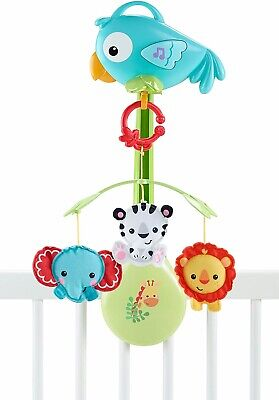 £20 • Buy Fisher Price Rainforest Cot Mobile-with Music, Lights, Lullabies And White Noise