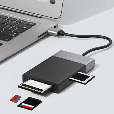 $ CDN34.53 • Buy FE- 6 In1 2Ports USB 3.0 Cable Card Reader Adapter For Hub/Micro-SD/TF/CF/XQD Me