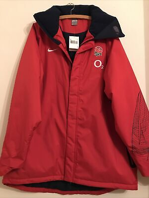 BNWT NIKE ENGLAND RUGBY 02 Quilted Padded Jacket Coat XXL 2XL • 29.99£