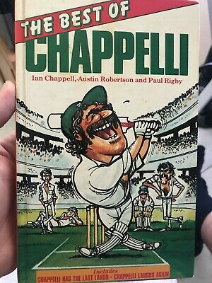 AU30 • Buy Cricket Book Signed By Ian Chappell