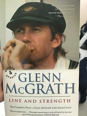 AU39 • Buy Cricket Book Signed By Glenn McGrath