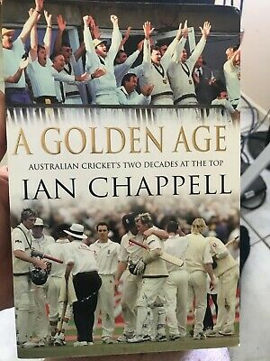AU39 • Buy Cricket Book Signed By Ian Chappell