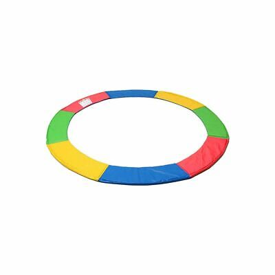 AU51.09 • Buy Trampoline Pad Replacement Reinforced Outdoor Round Spring Rainbow Cover 8FT
