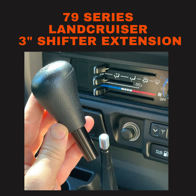 AU25.97 • Buy 75mm Gear Stick Shifter 3  Extension - Fits Toyota Land Cruiser 79 Series