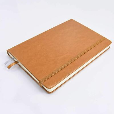 AU42.18 • Buy A5 Premium Classic Dotted Grid Bullet Notebook -Journal Dot Hard Cover (Brown)