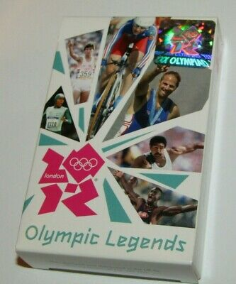 £2.99 • Buy 2012 London Olympic Legends Playing Cards New Sealed In Box Official Product