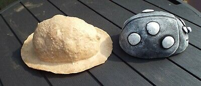 Latex Mould To Make Garden Ornament Statue  Ladybird  Concrete  New IN STOCK  • 29.99£