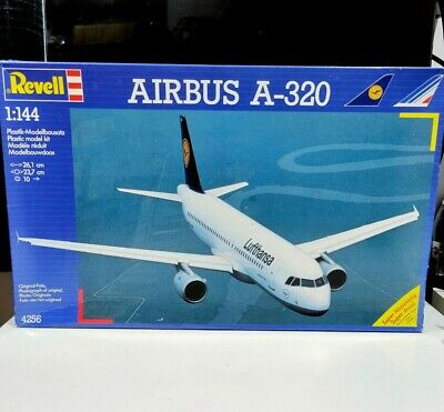 Revell 4256 1/144 Scale Lufthansa Airbus A320 Model Airline Air France Avion Kit • 34.95£