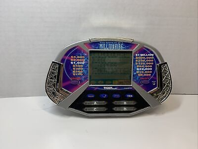 £3.54 • Buy Who Wants To Be A Millionaire Handheld Game By Tiger Electronics 2000