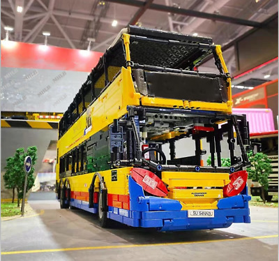 $ CDN471.96 • Buy Rc Double Decker Bus Adapted From Lego 10258 London Express Remote Control Set