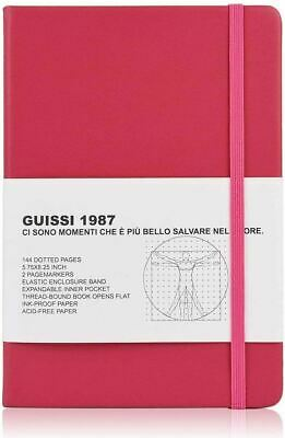 AU41.34 • Buy A5 Premium Classic Dotted Grid Bullet Notebook Journal Dot Hard Cover(Solferino)