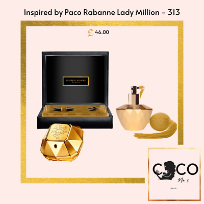 Fm Pure Royal 313 - Limited Edition** Inspired By Paco Rabanne Lady Million • 46£