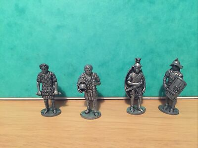 £7.49 • Buy English Heritage Metal Toy Soldiers - Roman Soldier Figures X4