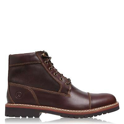 Mens Rockport Marshall Boots Moc Toe Zip Lightweight New • 60£
