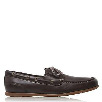 Mens Rockport Camp Shoes Loafers New • 40£