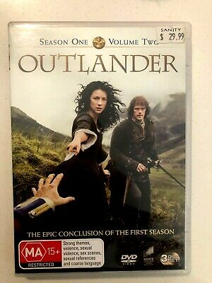 AU11 • Buy Outlander Season 1 Volume 2 Dvd 3 Disc + FREE POST