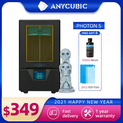 AU349 • Buy ANYCUBIC Photon S SLA LCD 3D Printer UV Resin Light Curing Dual Z-axis AU Stock