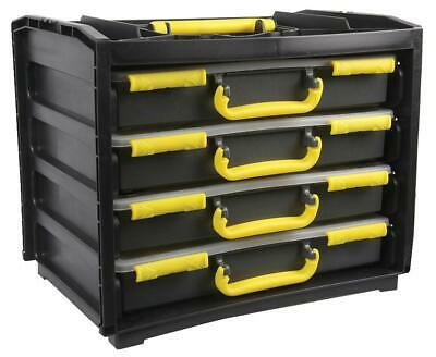 £62.95 • Buy Duratool Assortment Cases, Set Of 4 Size 310mm X 377mm X 265mm, Compact Storage