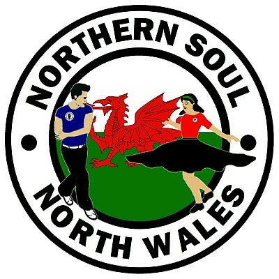 Northern Soul, North Wales - Novelty Car / Window / Stickers + 1 Free  / Gifts • 4.75£