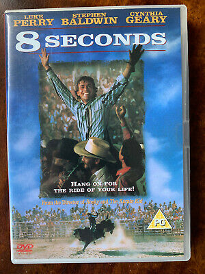 AU33.30 • Buy 8 Seconds DVD 1004 Cowboy Rodeo Western Movie With Luke Perry