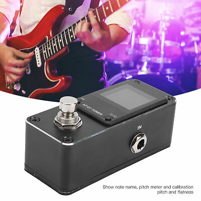 $ CDN26.42 • Buy Electric Guitar Pedal Tuner For Electric Guitar Electric Bass Musical Part Alloy