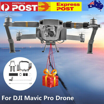 AU46.55 • Buy Double Release Thrower Air-Dropping Bait Dropper Device For DJI Mavic Pro Drone