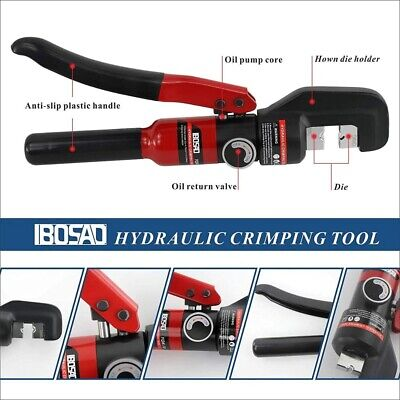 $ CDN96.67 • Buy Hydraulic Crimping Tools Cable Lug Crimper Pliers Compression YQK-70 4-70mm2