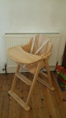 £50 • Buy Mothercare / East Coast Wooden Foldable High Chair