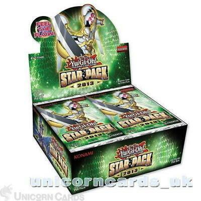 YuGiOh! Star Pack 2013 New And Sealed Box - 50 Booster Packs Unlimited Edition  • 38.39£