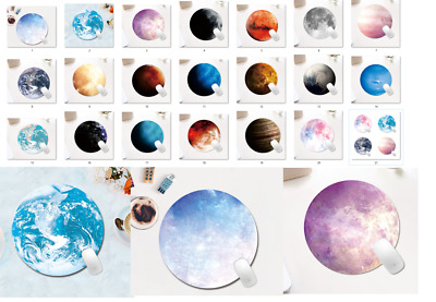 AU4.99 • Buy Round Planet Mouse Pad, Office Mouse Pad, Solar System Planets Mouse Pad - NEW