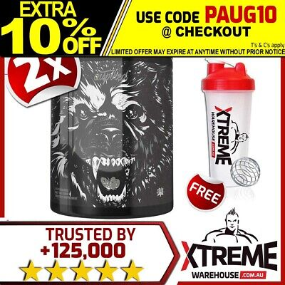 AU134.90 • Buy 2x Inspired Nutraceuticals Dvst8 Bbd Pre Workout 370g //high Stim Twin Pack