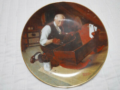 $ CDN13.98 • Buy Norman Rockwell  Grandpa's Gift  Collector Plate By Edwin M. Knowles 1987