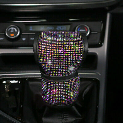 AU8.81 • Buy Universal Sparkle Bling Rhinestone Diamond Car Gear Cover Accessories Fashion