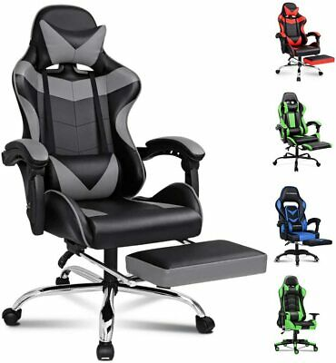AU249.99 • Buy Alfordson Gaming Chair Racing Office Chair Computer Desk Chair PU Leather