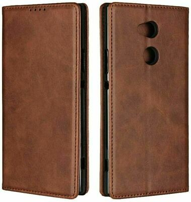AU26.30 • Buy Sony Xperia XA2 Ultra Case,Cowhide Pattern Leather Magnetic Wallet Case Cover
