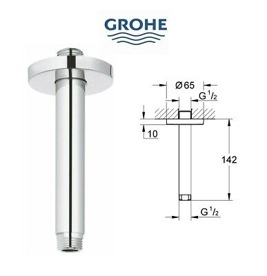 £29.95 • Buy GROHE 28724000 Rainshower Shower Arm 142mm Ceiling Mount 1/2  RRP £65.00