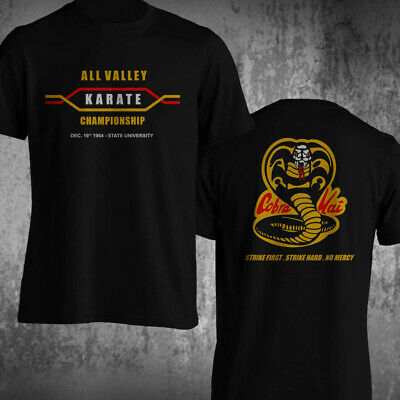 $26 • Buy All Valley Karate Championship Karate Kid Cobra Kai Strike Martial Art T-Shirt