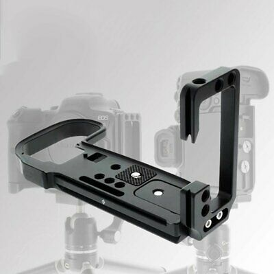 AU51.99 • Buy Quick Release L-Plate Vertical Bracket Hand Grip For Canon EOS R5 R6 Camera