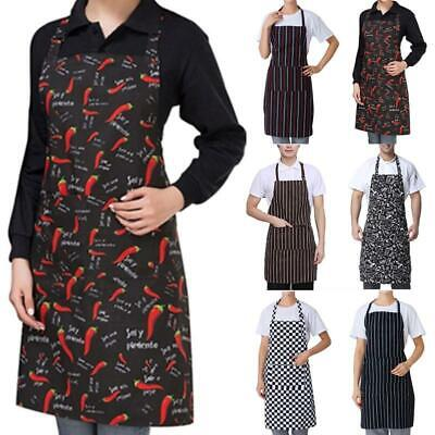 UK Chefs Apron With Pockets, BBQ, Baking & Catering Apron For Men Women Ladies • 5.14£