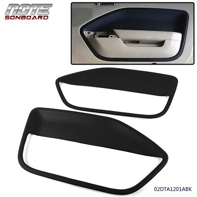 $68.90 • Buy Replacement For 2005 2006 2007 2009 Ford Mustang Door Panel Insert Slate Balck