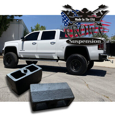 $20 • Buy 3  Rear Leveling Lift Blocks For Chevrolet Silverado GMC Sierra HD Steel Kit