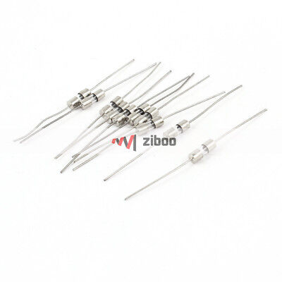 $ CDN8.64 • Buy 100Pcs 250 Volts 15Amp Fast Blow Type Glass Tube Fuses 6mm X 30mm Silver Tone✦Kd