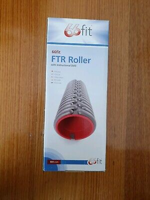 AU16.99 • Buy Foam Roller - NEW Half Size FTR Exercise Roller W Instructional DVD Gym Fitness