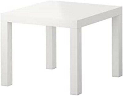 Ikea LACK Home Table  / Side Table / Small Table / Little Table - White,  USED  • 6.39£