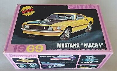 $116.82 • Buy Ford Mustang Mach 1 1969 Amt 1/25