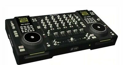 £233.64 • Buy PRODIGY Professional Dual CD-MP3 Players/4 Channel VCA Mixer